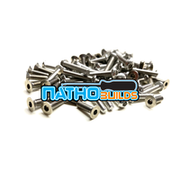NathoBuilds Stainless Steel Screw Kits for 1/8th